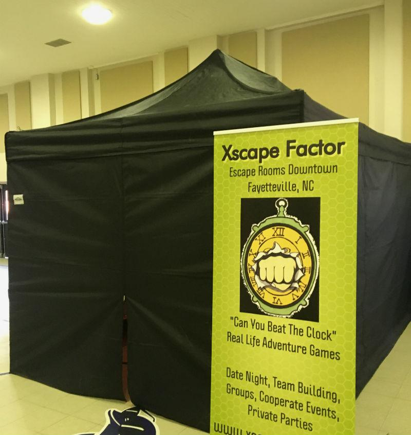 Xscape Factors Portable Pop Up Tent Escape Room Xscape Factor